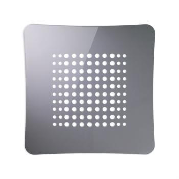 Griglia Aerazione AirDecor Astro diametro supporto a muro 100 mm Grigio