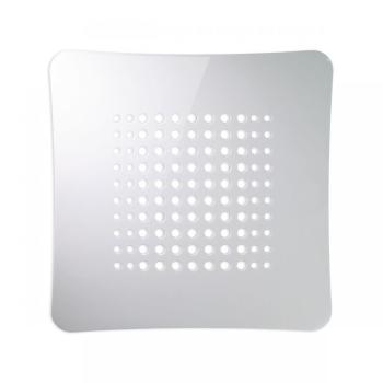 Griglia Aerazione AirDecor Astro diametro supporto a muro 120 mm Bianco