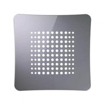 Griglia Aerazione AirDecor Astro diametro supporto a muro 120 mm Grigio