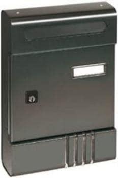 Cassetta Postale Alubox SE componibile 20,4x29x7 cm in Alluminio colore Ghisa