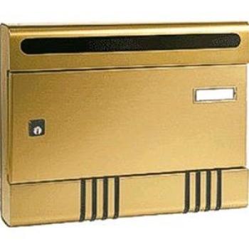Cassetta Postale Alubox SIR componibile 29x36,5x7 cm in Alluminio colore Bronzo