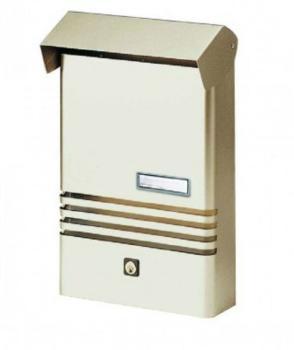Cassetta Postale Alubox XER formato rivista 25x38x7.5 cm Alluminio Argento