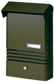 Cassetta Postale Alubox XER formato rivista 25x38x7.5 cm Alluminio Ghisa