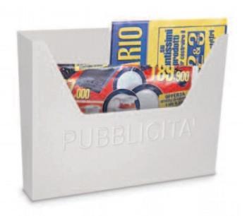 Cassetta Postale Alubox HELLAS pubblicità 25,5x34x5 cm in Lamiera elettrozincata colore Bianco