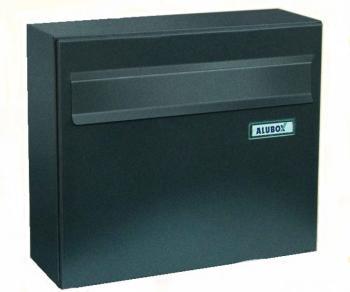 Cassetta Postale Alubox VENERE formato rivista 32x37x15,5 cm Lamiera elettrozincata colore Ghisa
