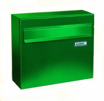 Cassetta Postale Alubox VENERE formato rivista 32x37x15,5 cm Lamiera elettrozincata colore Verde