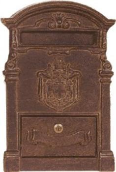 Frontale Alubox A2 da incasso 40x27,8 cm in Ottone colore Ottone Brunito