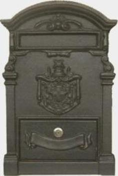 Frontale Alubox A2 da incasso 40x27,8 cm in Ottone colore Ghisa