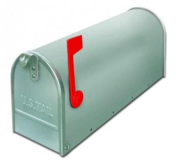 Cassetta postale Alubox serie TOPOLINO 32x48x17 cm in Lamiera zincata colore Argento