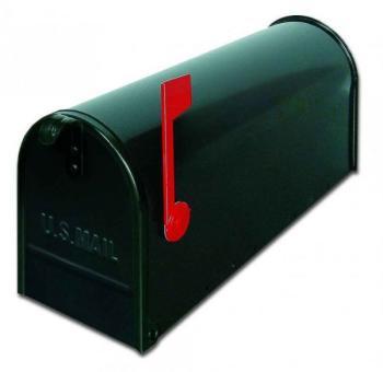 Cassetta postale Alubox serie TOPOLINO 32x48x17 cm in Lamiera zincata colore Nero
