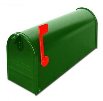 Cassetta postale Alubox serie TOPOLINO 32x48x17 cm in Lamiera zincata colore Verde