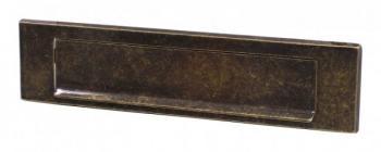 Copriferitoia Alubox serie CFR 30x7 cm in Ottone colore ottone Brunito