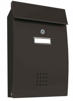 Cassetta Postale Alubox PECHINO formato rivista 26x38.2x7 cm in lamiera zincata verniciata Ghisa