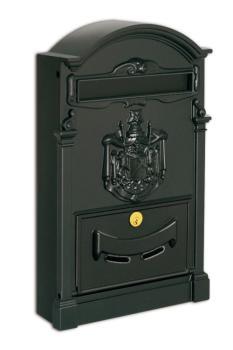 Cassetta Postale RESIDENCE formato rivista 41x26x9 cm in Alluminio colore Nero