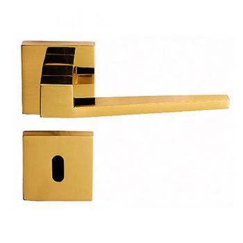 Bal Becchetti  maniglia per porta interna con rosetta bocchetta cromato