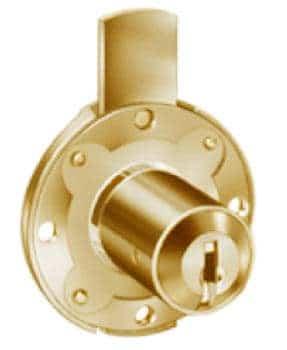 Cas Meroni Securital serratura cilindro mm 17 x 30 ottonato