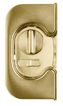 Colombo Design maniglia e serrature per porte scorrevoli ottone