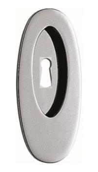 Maniglia per porta scorrevole ad incasso CB 111 con foro finitura Nikelmat