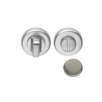 Nottolino tondo CD69-BZG Colombo Design per porta finitura Nikelmat