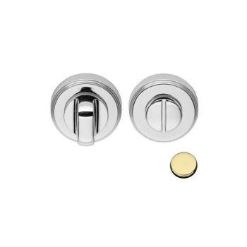 Nottolino tondo CD79-BZG Colombo Design per porta finitura Oroplus