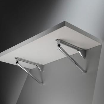 Reggimensola design Confalonieri 230 x 132 mm Bianco Opaco