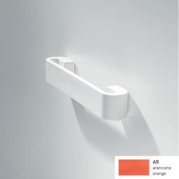 Maniglia per mobile in gomma serie MB09130 Confalonieri interasse 128 Arancione