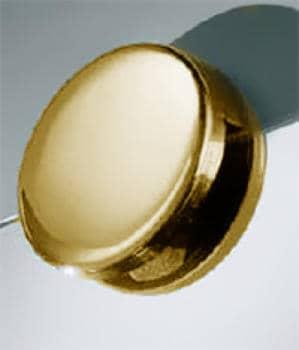 Supporto specchi Confalonieri misura B oro lucido Reggispecchio Ø 35 mm