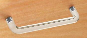 Maniglia per mobile metalcrilato Confalonieri interasse 160 mm Bianco trasparente