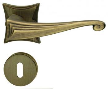 Maniglia per porta DND Martinelli serie CASSIA foro normale BRONZO SATINATO