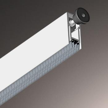Parafreddo FILLER per Porte in legno e blindate 13x28 mm Lunghezza 1430 mm