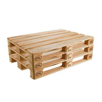 Kit 3 Pallet in legno EPAL 800 x 1200 mm peso 25 kg Nuovo