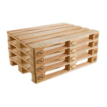 Kit 4 Pallet in legno EPAL 800 x 1200 mm peso 25 kg Nuovo