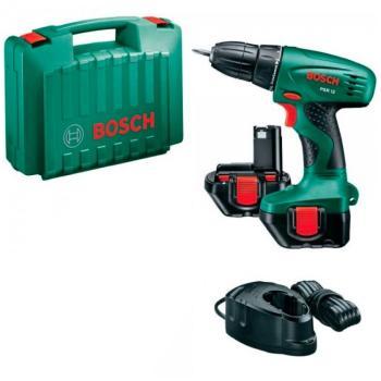 Trapano Avvitatore Bosch 2 Batterie PSR 12 KIT 46 ACCESS
