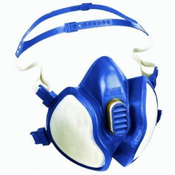 Maschera 3M vapori organici, solventi e acidi Modello. 4277