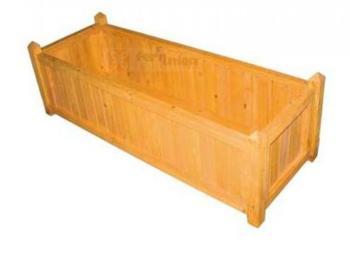 Fioreria in legno di cedro di dimensioni cm 97,5x36x31H