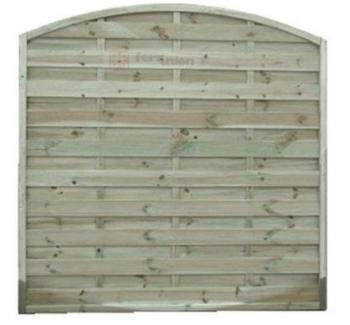 Pannelli in legno frangivento arco di dimensioni cm 180x180 PAPILLON
