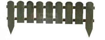Recinto inglese distanziato stecche 16x90 mm - traverse 34x12 mm dimensioni 110x3,2x28/45H PAPILLON