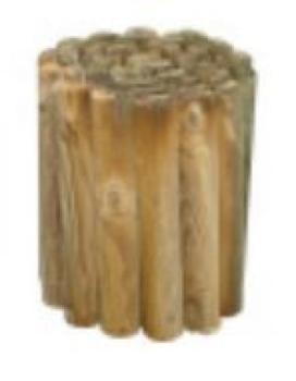Rollborder in legno mezzo palo Ø 5 cm dimensioni 200x20H cm PAPILLON
