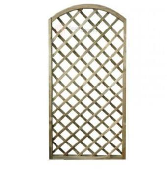Pannello separatore ad arco grigliati in legno dimensione 90x180H cm PAPILLON