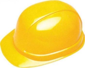 Elmetto antinfortunistica Adamello colore giallo