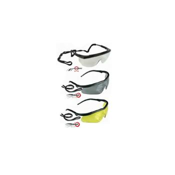 Occhiali Protettivi con Stanghette Inclinabili Lenti Grigie Maurer Plus