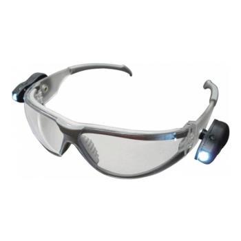Occhiali Protettivi C/luce Led Trasparenti Maurer Plus