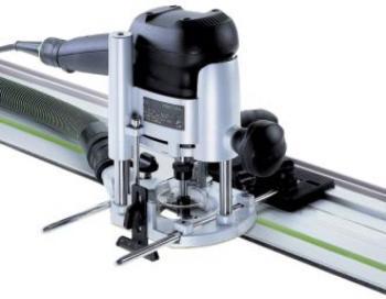 Festool Fresatrice verticale OF 1010 EBQ - Set