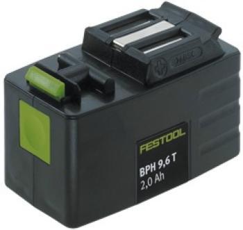 Batteria Festool BPH 9,6 T 2,0 Ah per trapani avvitatori TDD 9,6, TDD 12, TDD 14,4