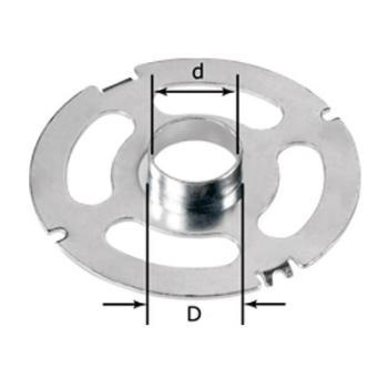 Anello a copiare Festool KR-D 24,0/OF 2200 per fare coincidere le dime di fresatura