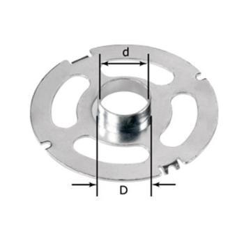 Anello a copiare Festool KR-D 12,7/OF 2200 per fare coincidere le dime di fresatura