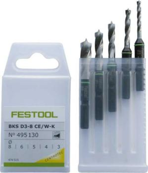Cassetta Punte da legno per CENTROTEC - BKS D 3-8 CE/W-K Festool