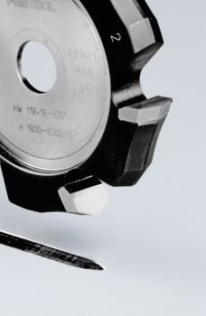 Festool Fresa per scanalature a V HW 118x18-135°/Alu