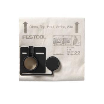 Festool Sacchetto filtro FIS-CT 22/5