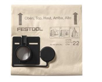 Festool Sacchetto filtro FIS-CT 33/20 Adatto per i tipi di apparecchi: per CT 33